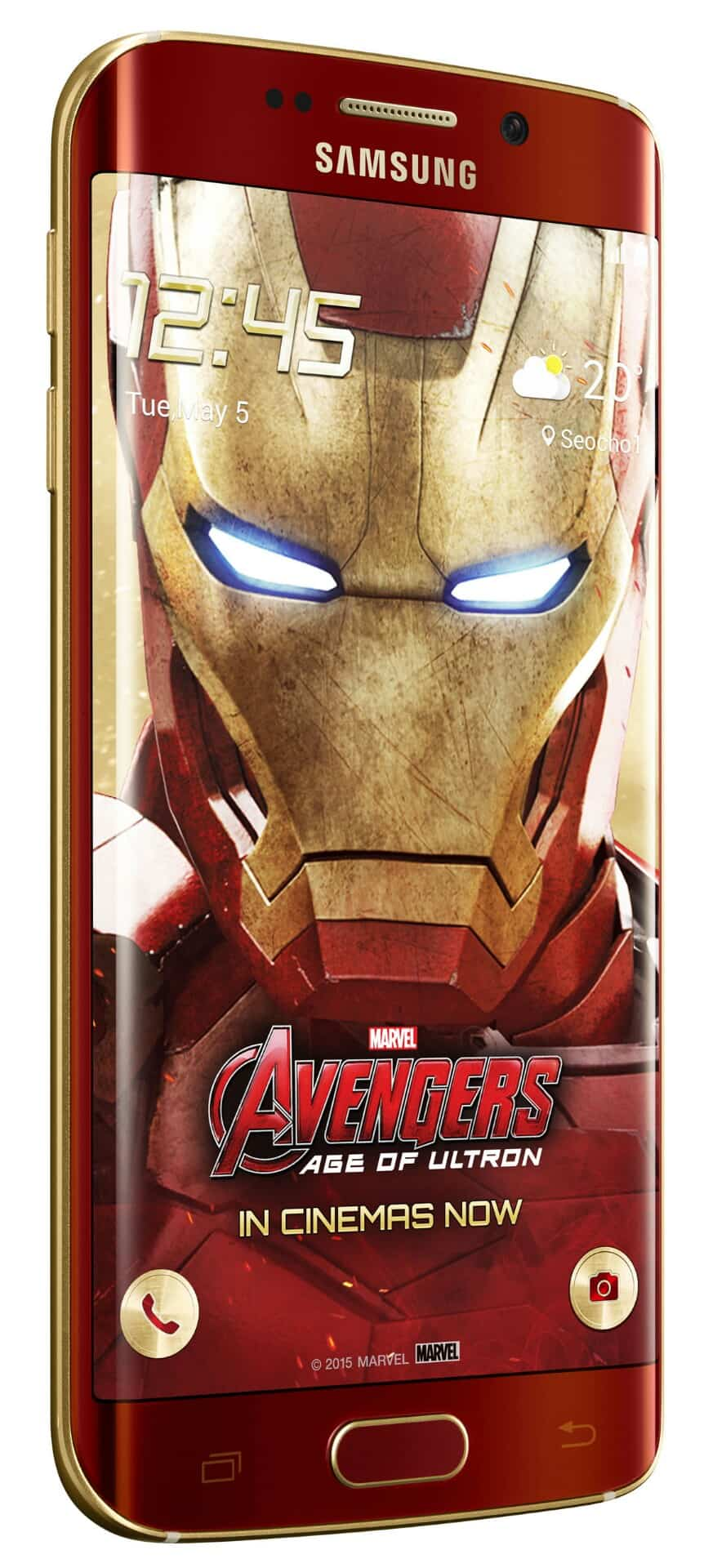 Galaxy S6 edge Iron Man Limited Edition 3 wm