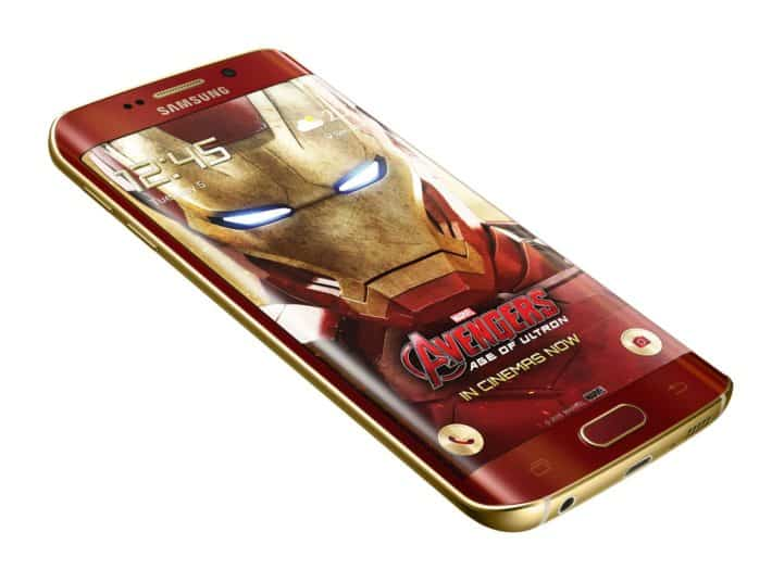 Iron Man Galaxy S6 Edge Unboxed, Available Today In Korea