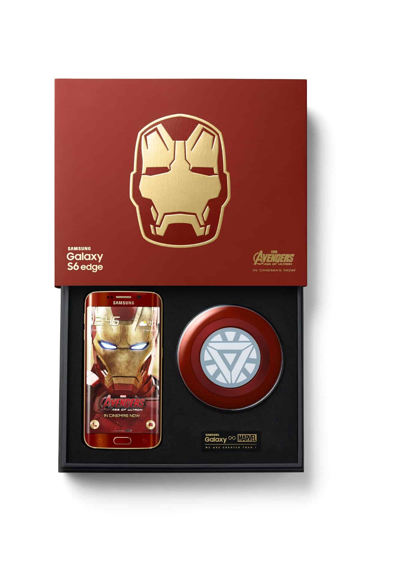 Galaxy S6 edge Iron Man Limited Edition 9 wm