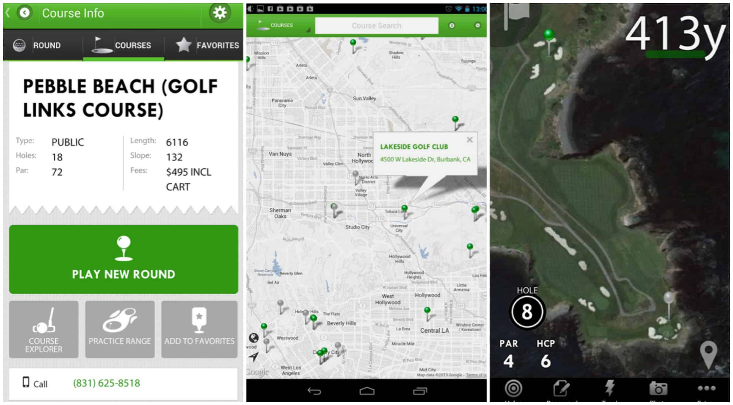 best free golf gps app for android 2015