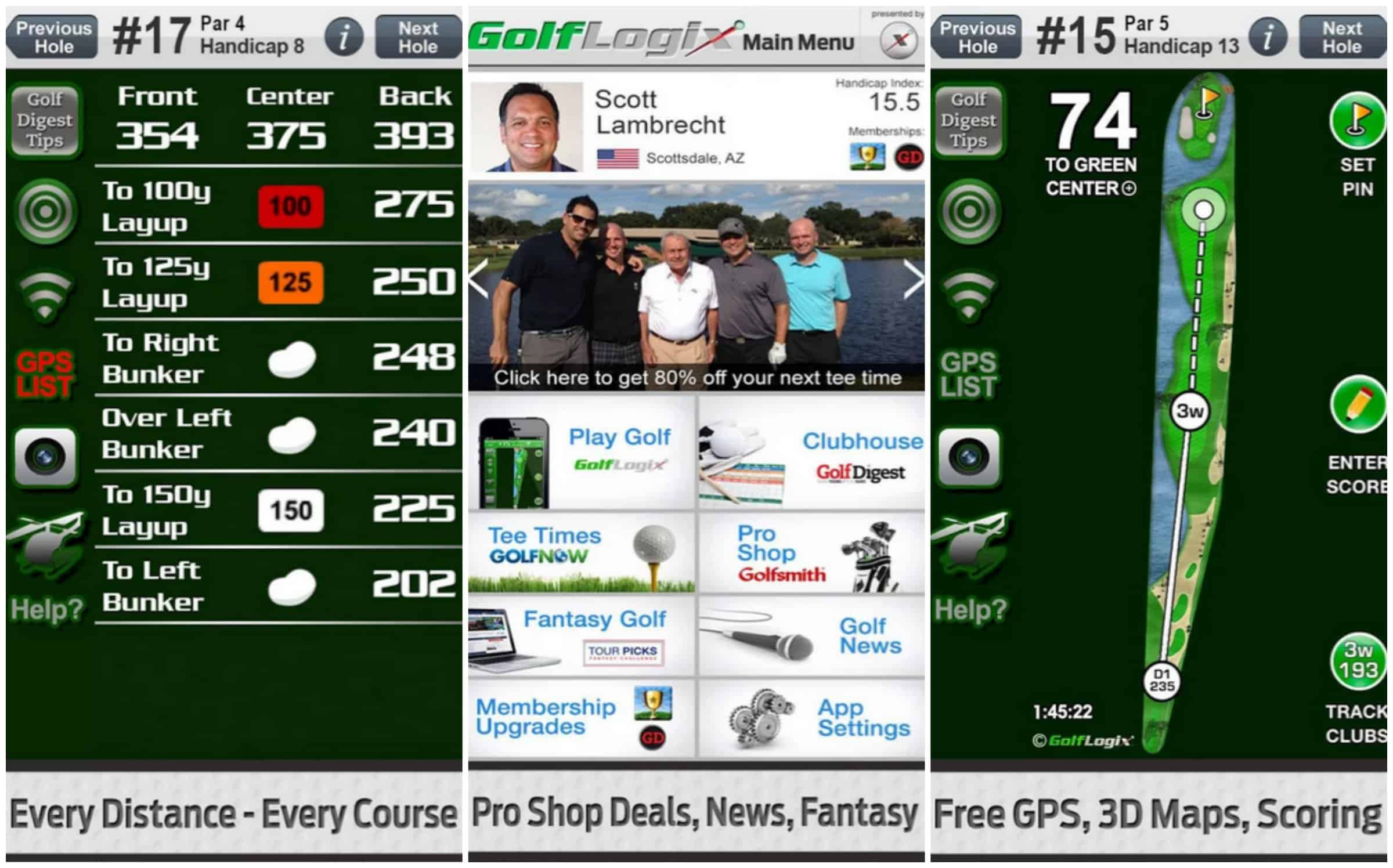 This One Again Does Offer Gps Based Functionality However That Is Only Part Of The Deal With This App Probably Like Your Local Golf Venue