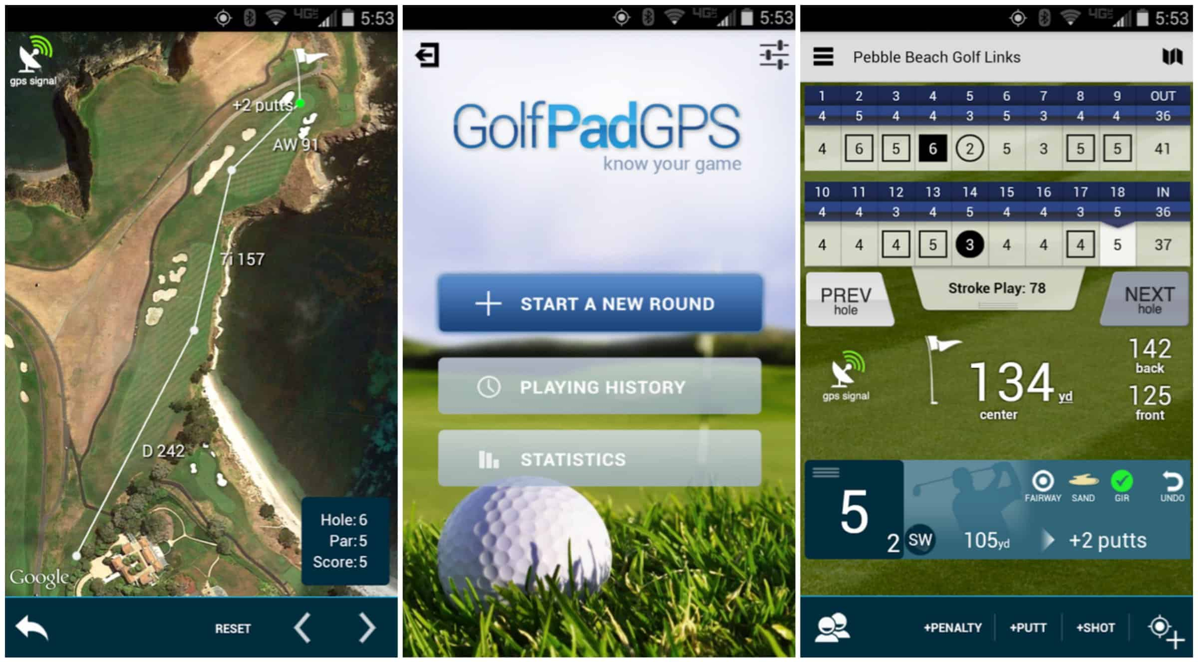 Golf Pad GPS