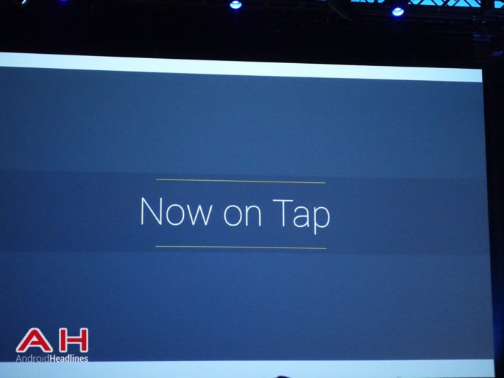 Now On Tap Unlikely To Be Available On M Developer Preview