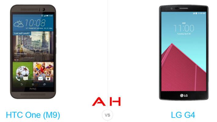 Phone Comparisons: HTC One M9 vs LG G4