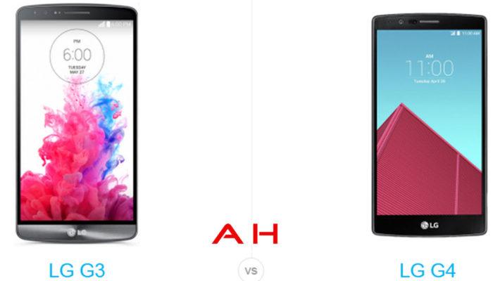 Phone Comparisons: LG G3 vs LG G4