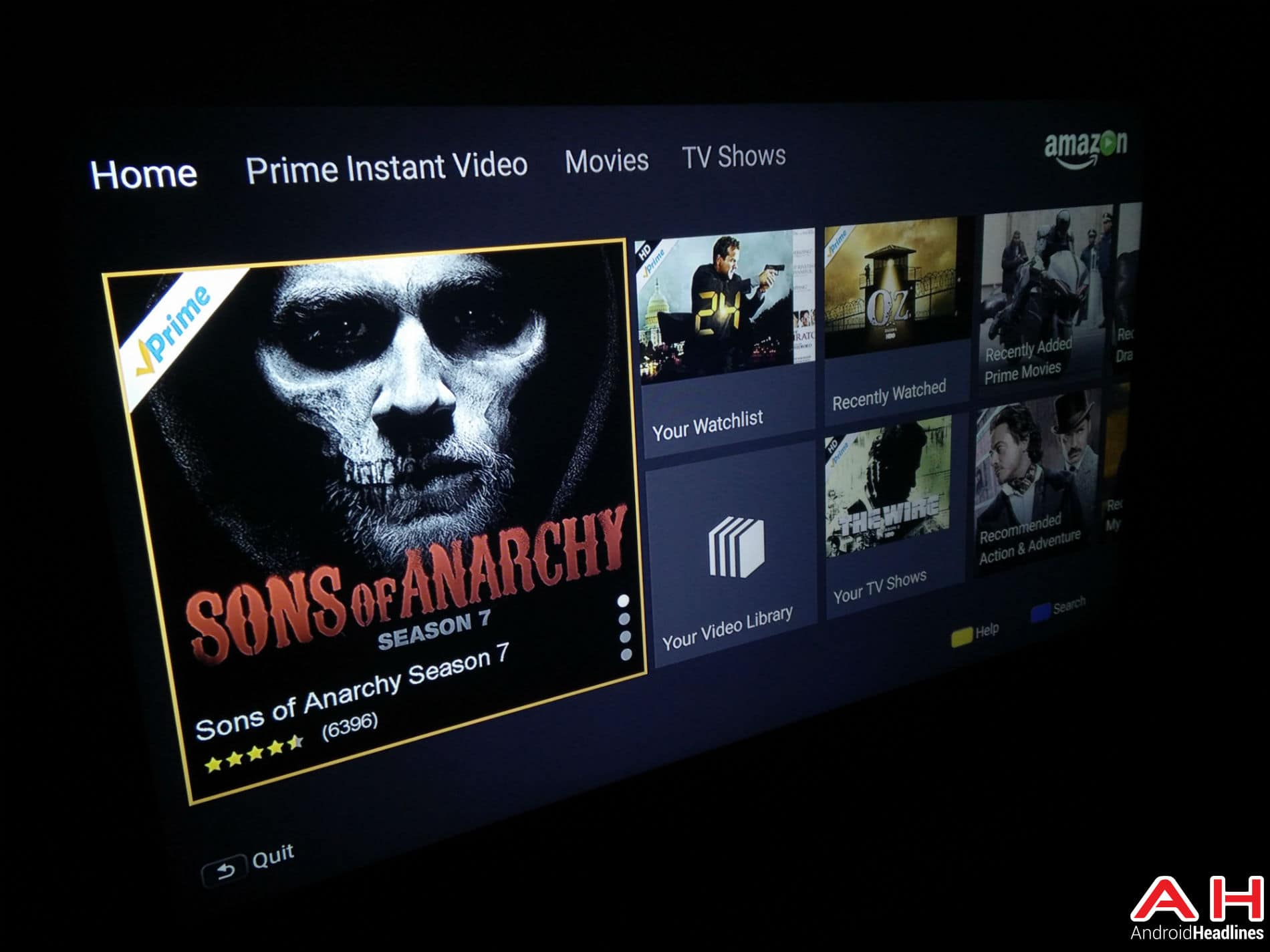 Instant Video Android TV AH