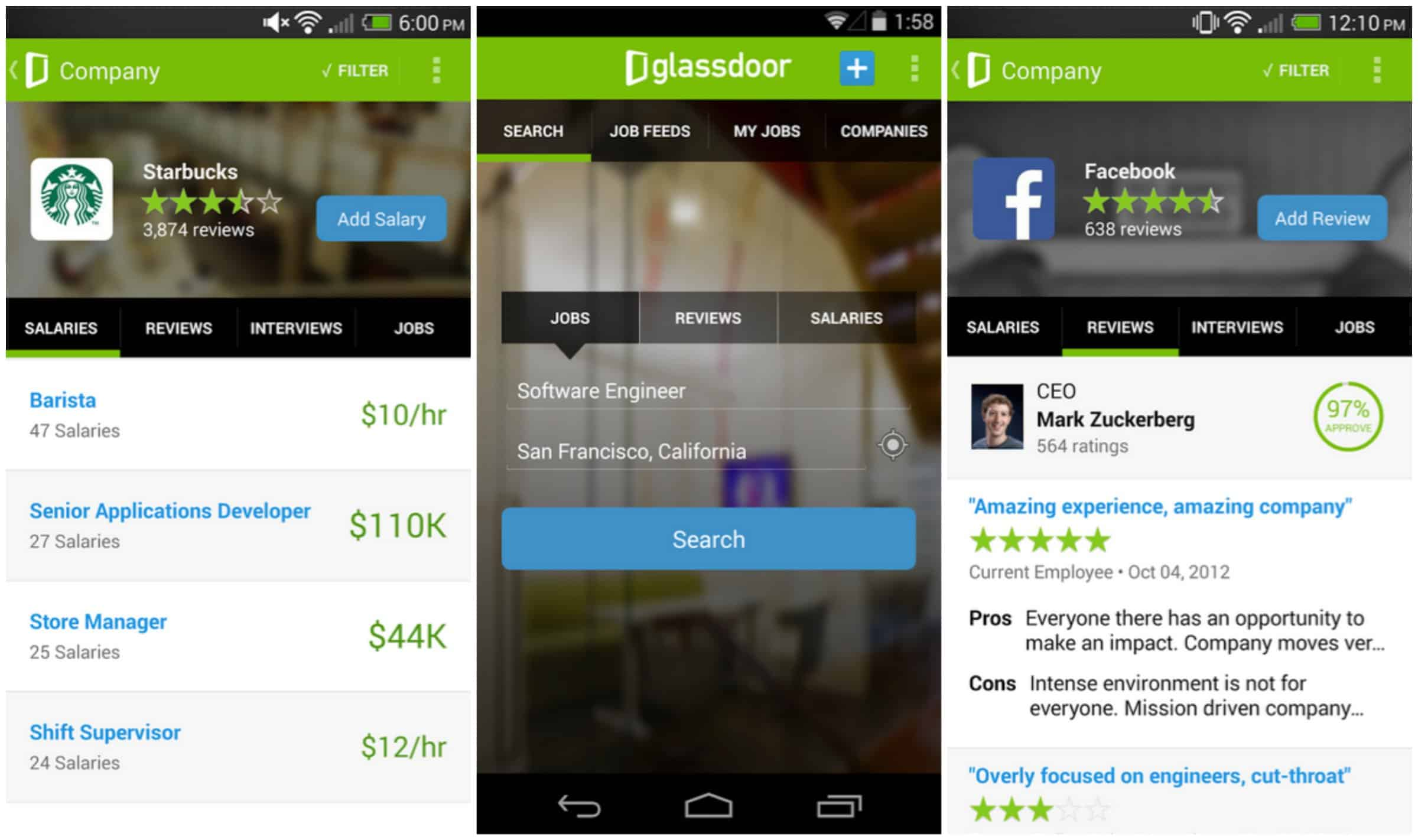 featured top job search apps for android com job search salaries reviews