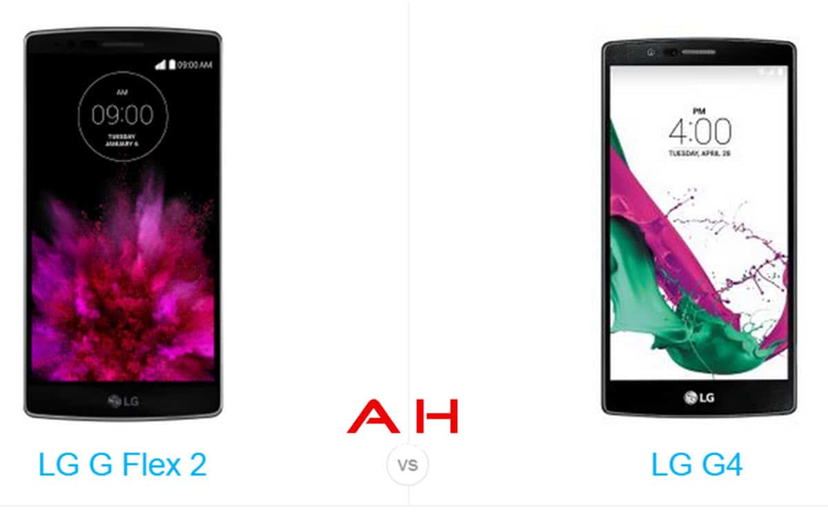 LG G Flex 2 vs LG G4 cam 2 AH