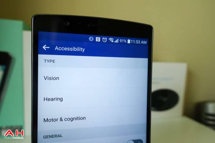 A Closer Look: At the Accessibility Options on the LG G4