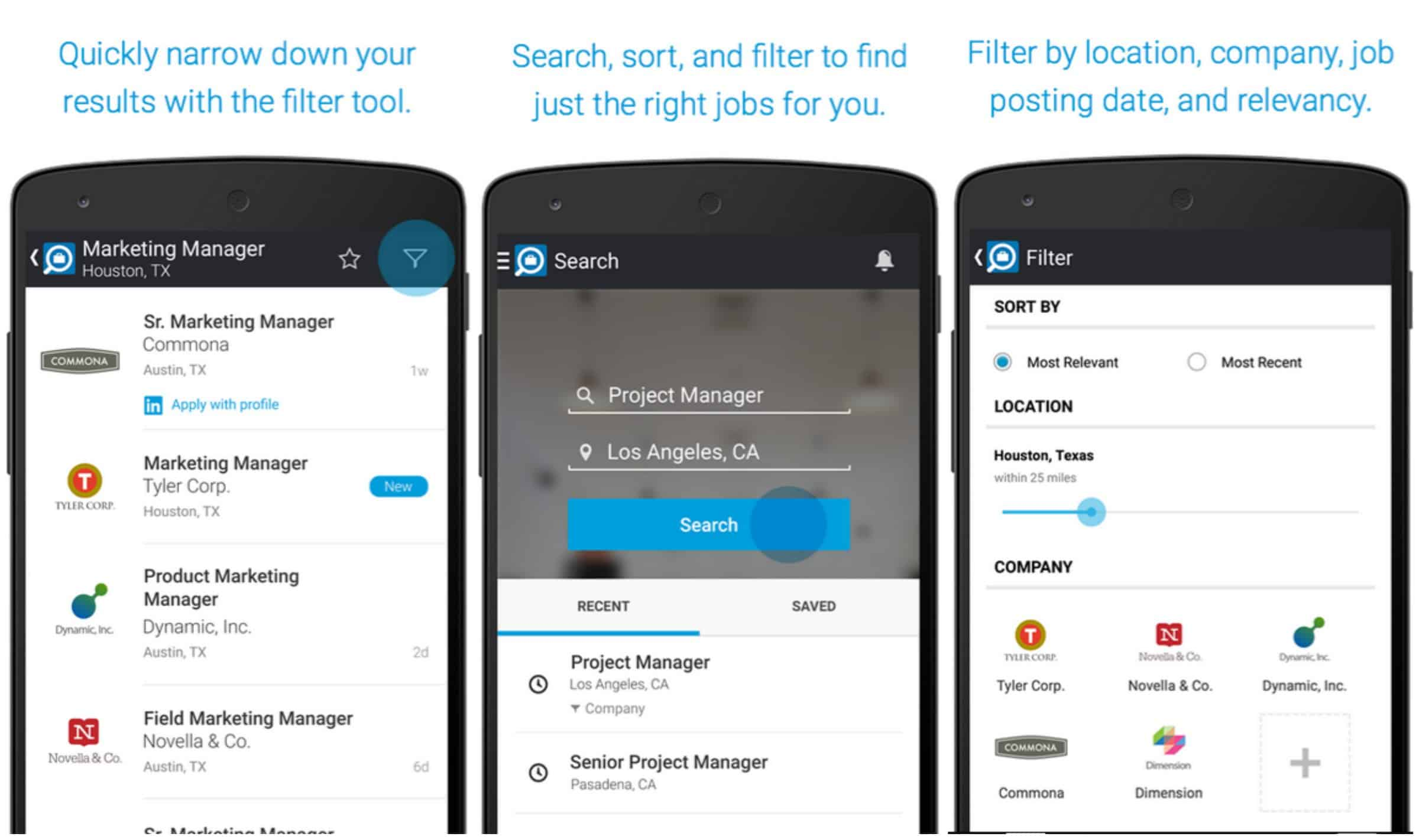 featured top job search apps for android com linkedin job search