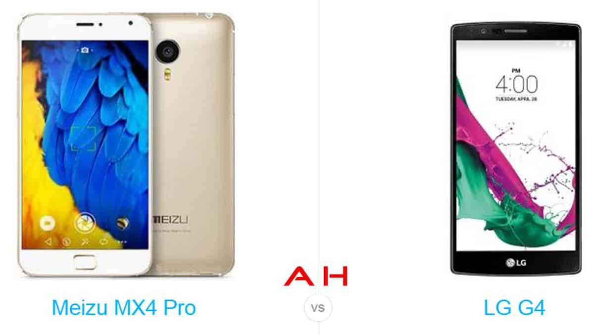 Meizu MX4 Pro vs LG G4 cam AH