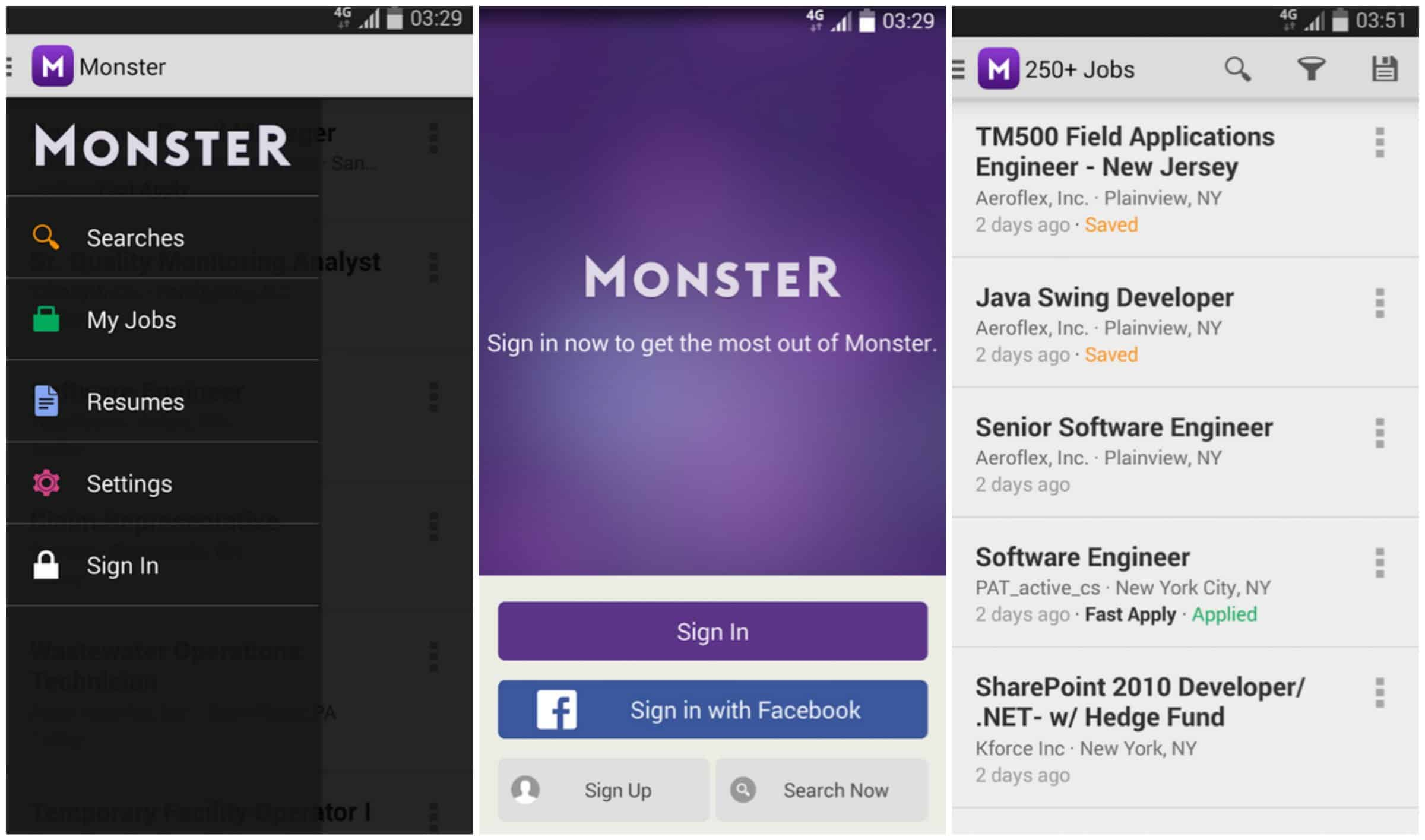 featured top job search apps for android com monster job search