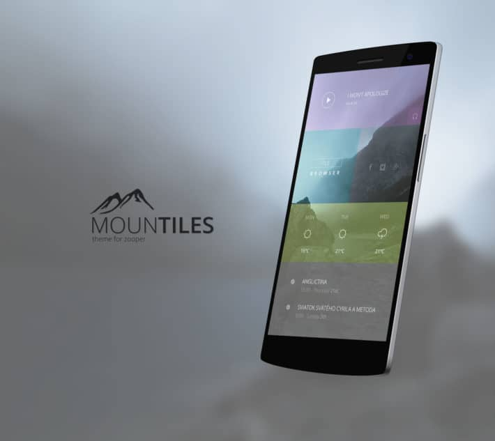 Top Android Homescreen May 24th: Mountiles