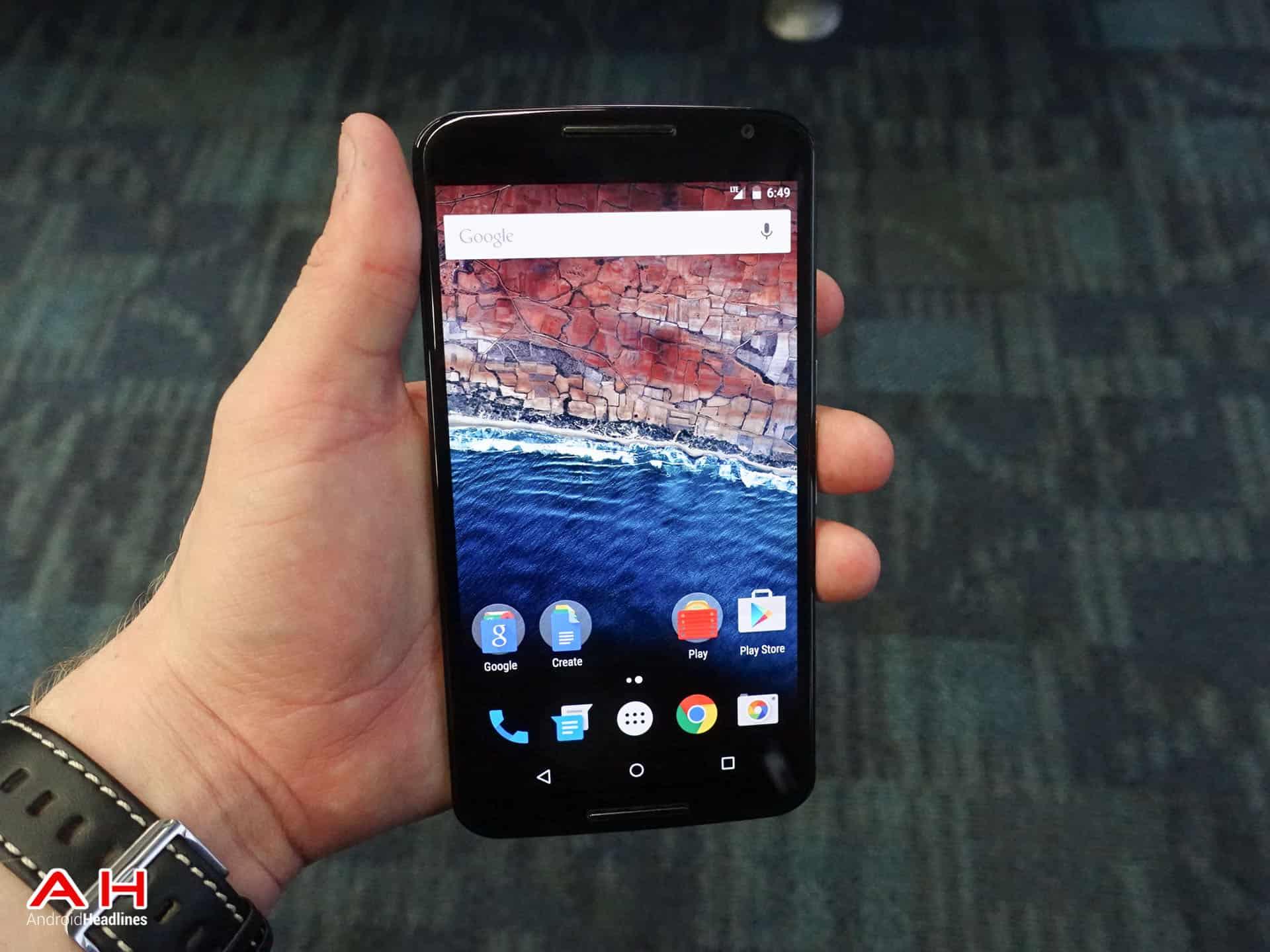 Nexus 6 Android M AH 1