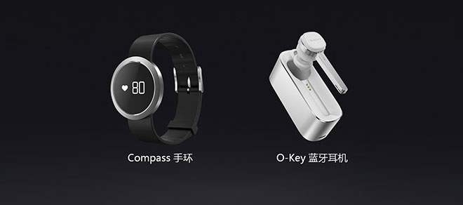 Oppo Compass Fitness Tracker and O-Key bluetooth headset_1