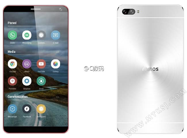 Ramos Sleek Looking Bezel Less Smartphone Leaks