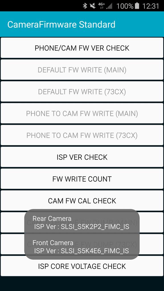 Samsung Galaxy S6 Camera Sensor S5K2P2