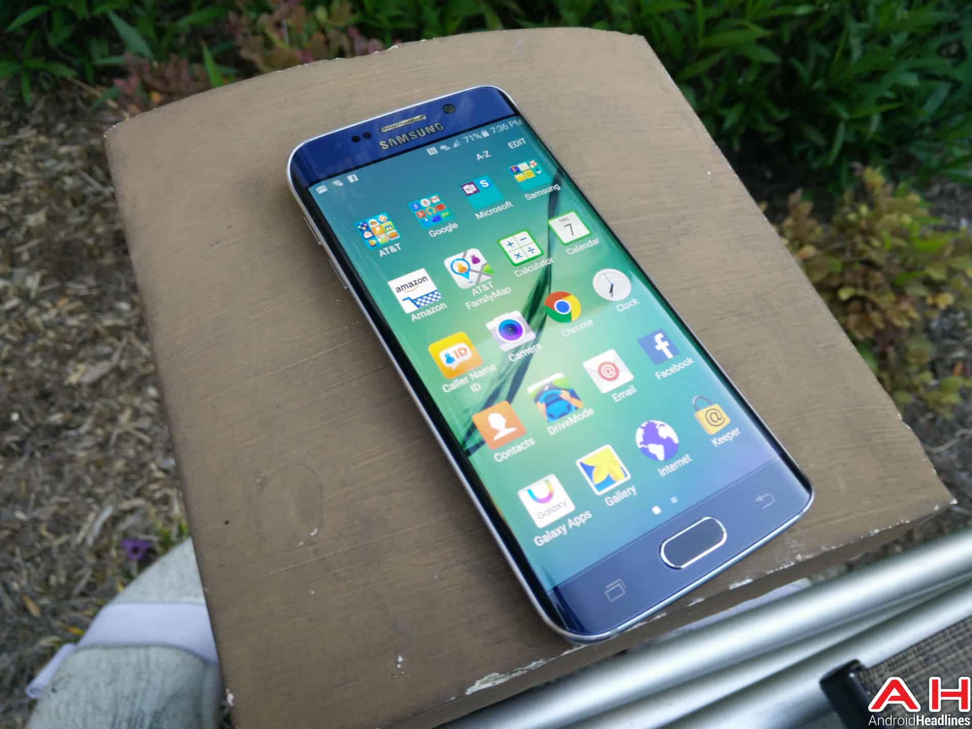 Samsung Galaxy S6 Edge Front