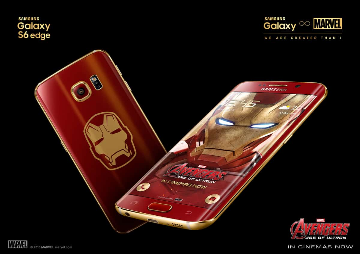 Samsung Galaxy S6 Edge Iron Man Limited Edition 1