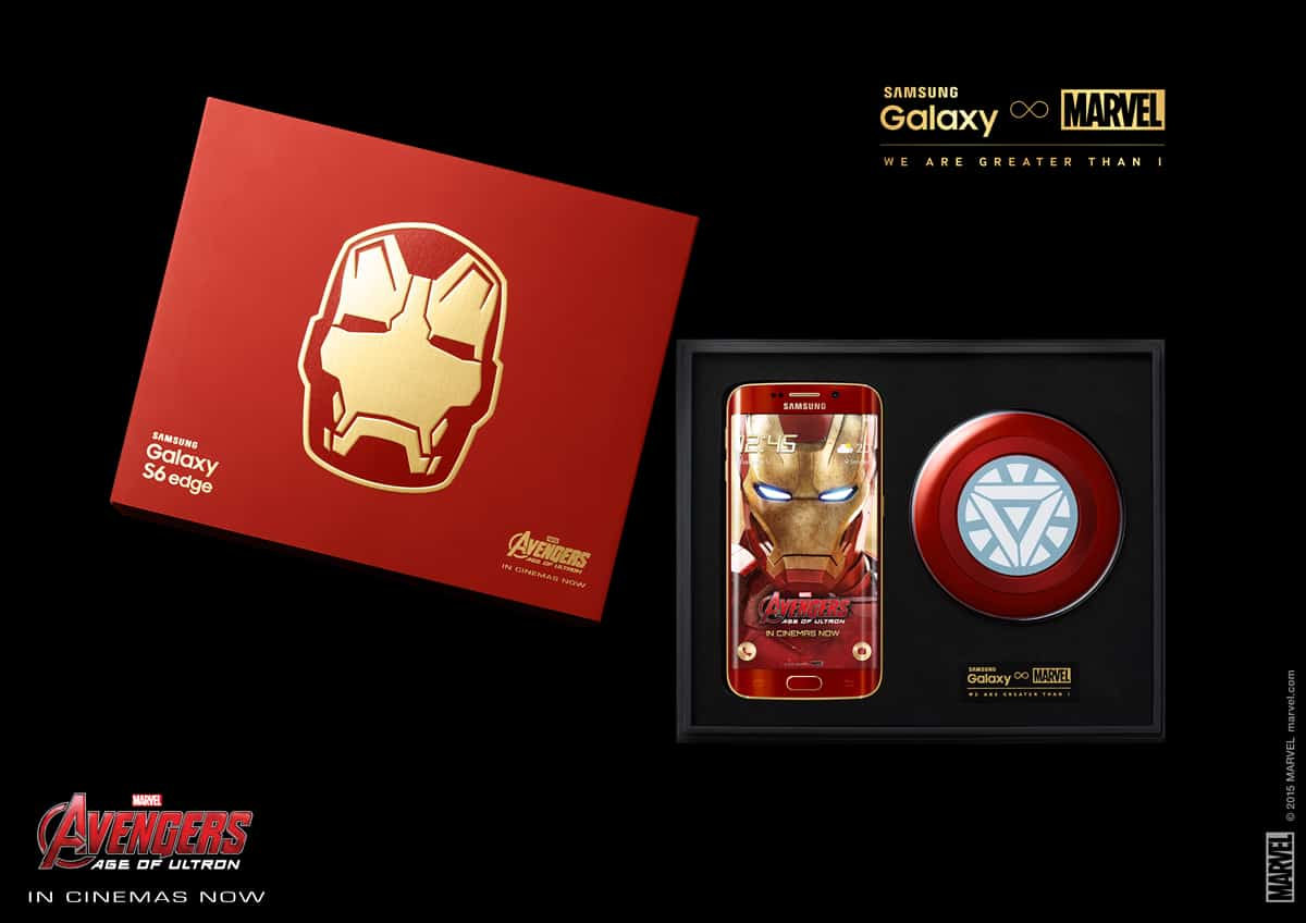 Samsung Galaxy S6 Edge Iron Man Limited Edition 2