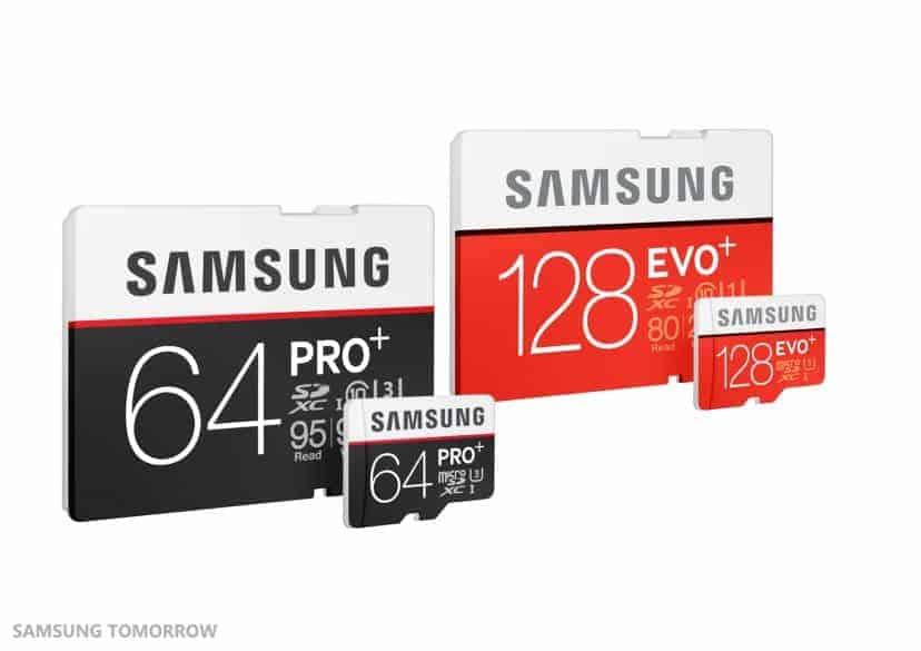 Samsung Pro & Evo