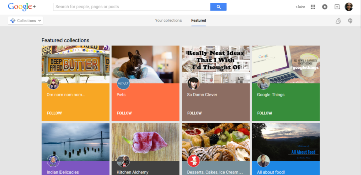 Google+ Collections Feature Now Live On Mobile And Desktop