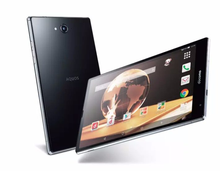 Sharp's New Aquos Pad SH-05G Contains Snapdragon 810