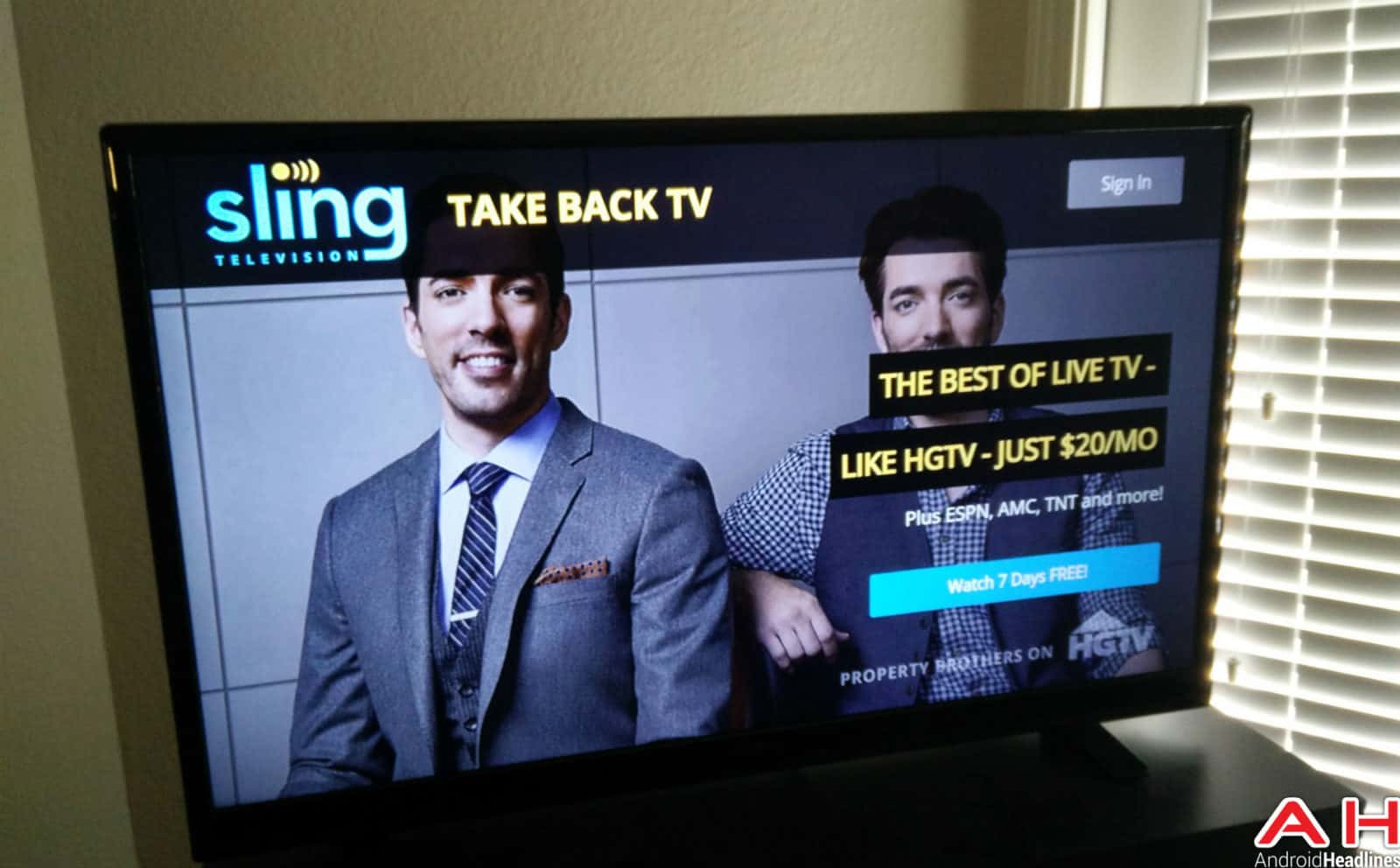 Sling TV Android TV AH