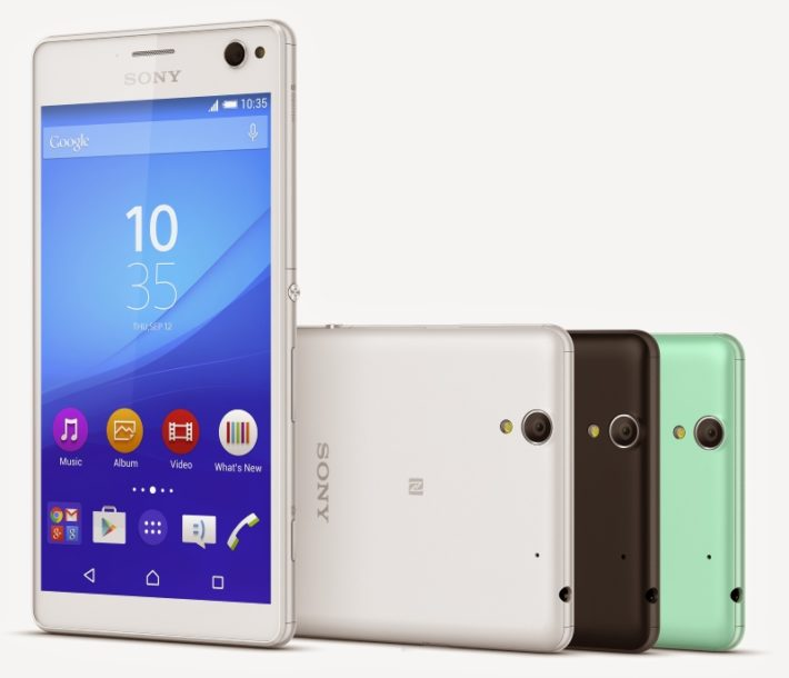 Sony Unveils The Xperia C4, Front-Facing LED Flash And 5MP 'Selfie' Camera Included