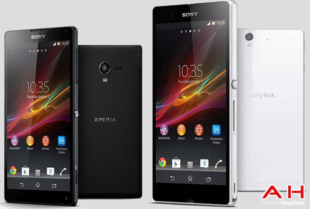 Sony Xperia Z and ZL cam AH