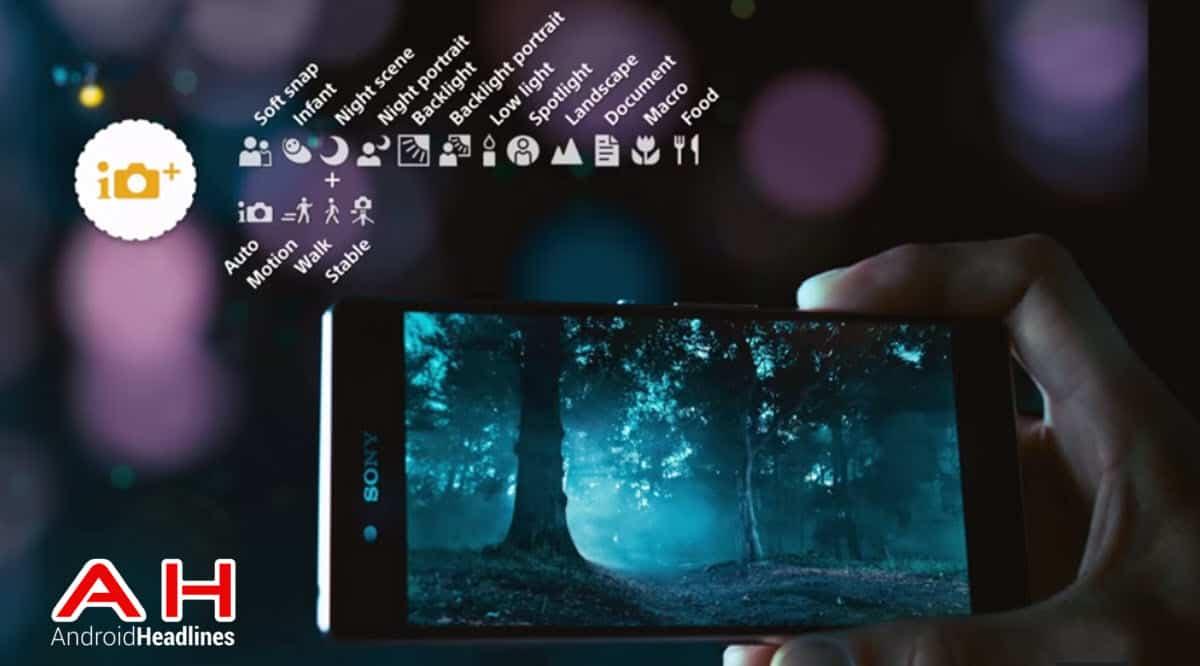 Sony Xperia Z3+ Camera cam AH