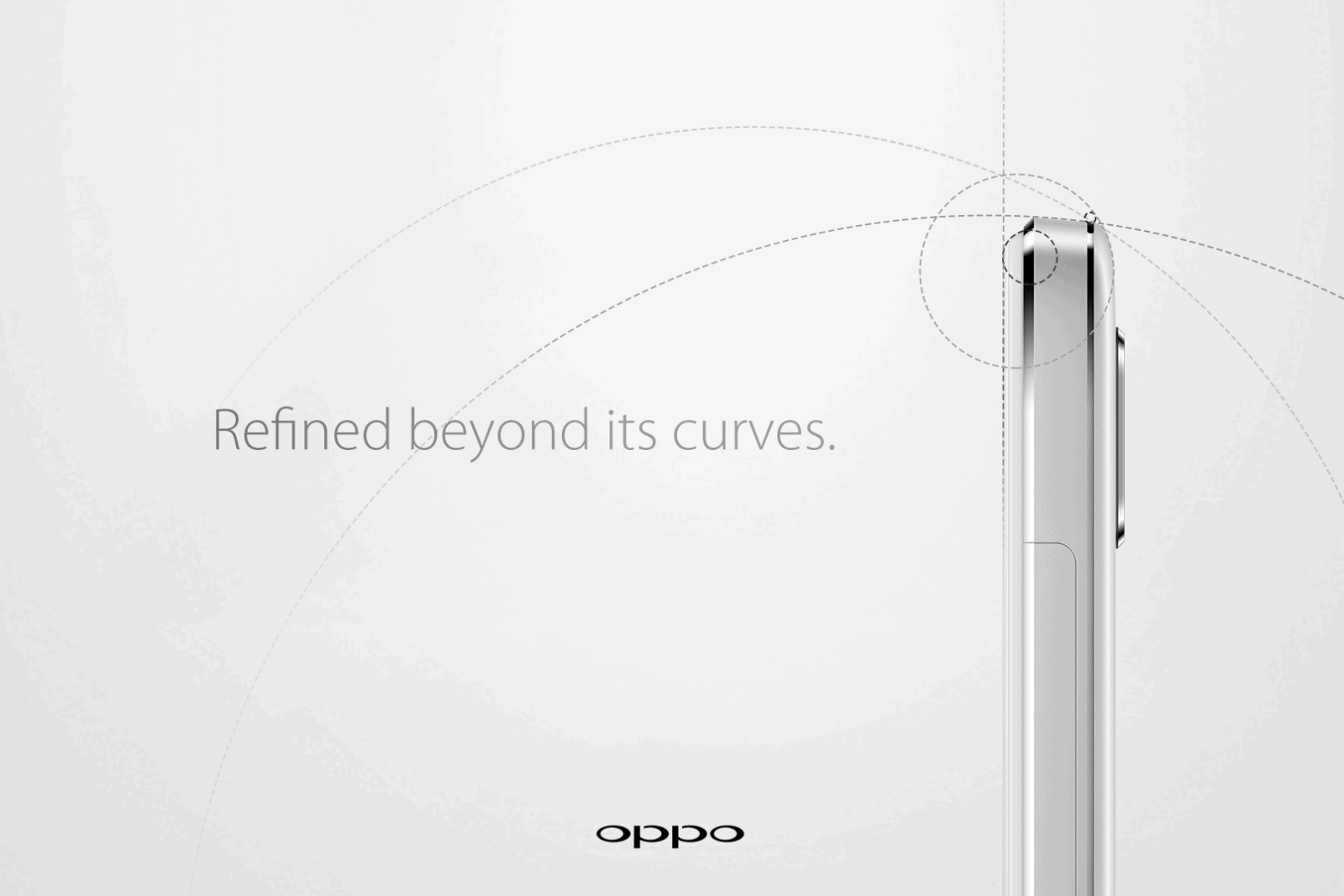 The OPPO R7 with Mental Design