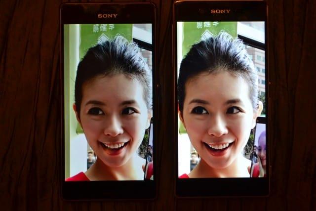 Xperia Z3 vs Xperia Z3 Plus display_1