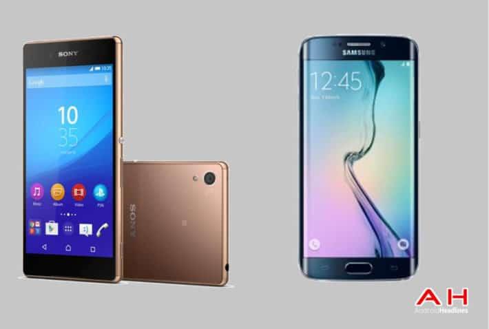 Phone Comparisons: Sony Xperia Z4 vs Samsung Galaxy S6 Edge