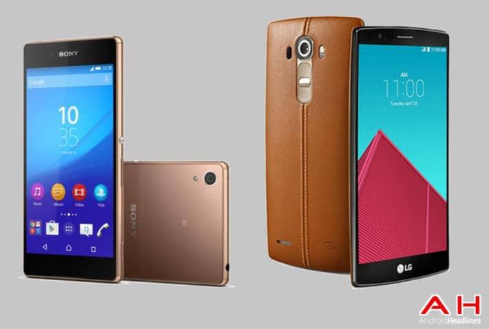 Phone Comparisons: Sony Xperia Z4 vs LG G4