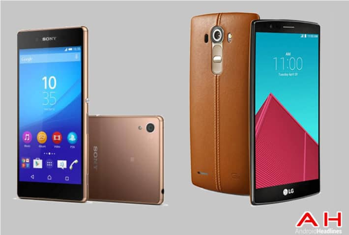 Phone Comparisons: Sony Xperia Z4 vs LG G4