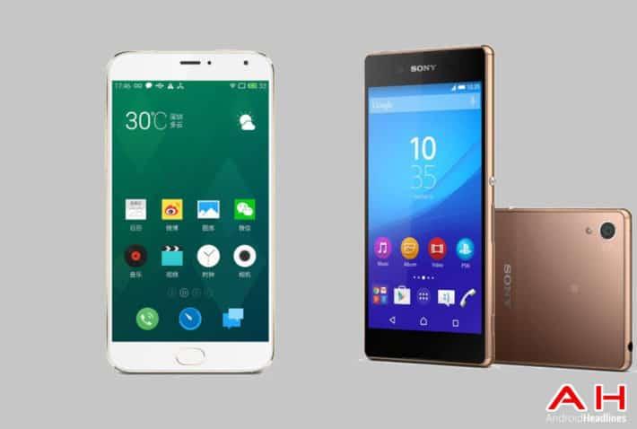 Phone Comparisons: Meizu MX4 Pro vs Sony Xperia Z4