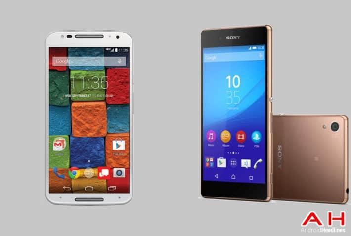 Phone Comparisons: Motorola Moto X 2014 vs Sony Xperia Z4