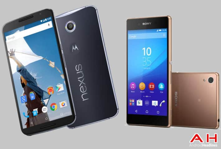 Phone Comparisons: Nexus 6 vs Sony Xperia Z4