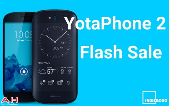 Exclusive: YotaPhone 2 Flash Sale – Get The YotaPhone 2 For $500 ($100 Off MSRP)