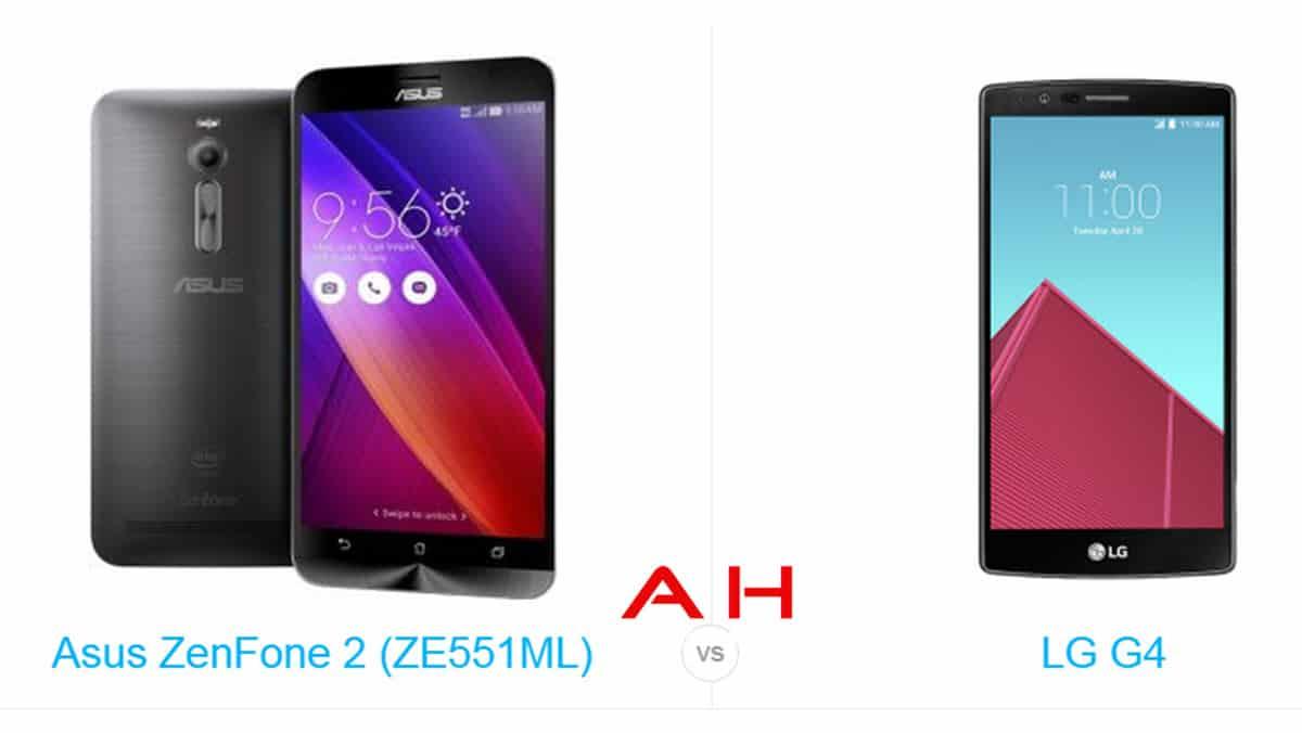 ZenFone 2 vs LG G4 cam AH