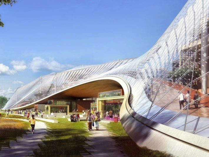 Google Plans On Building New Glass Dome Headquarters