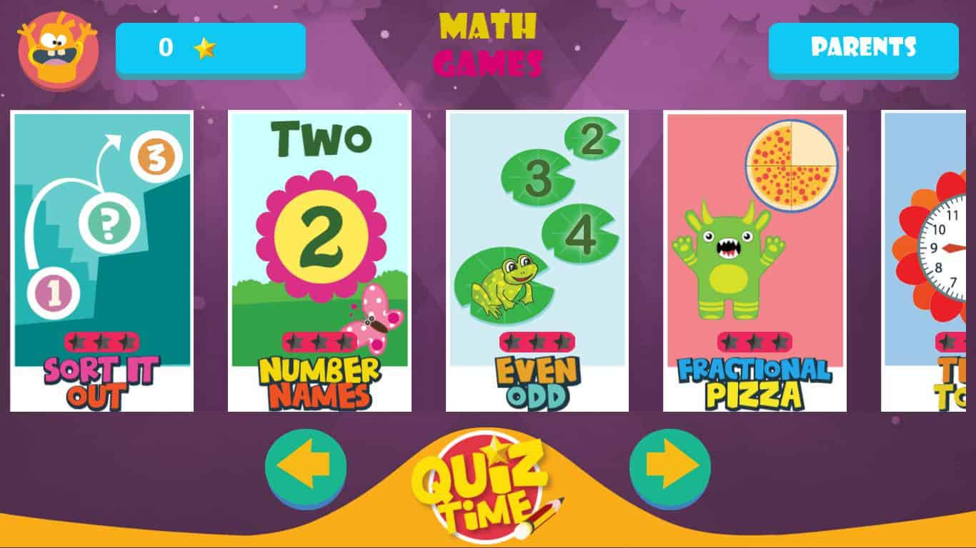 Sponsored Game Review: Kids Games Learning Math Basic ...