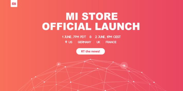 Xiaomi Mi Store Opens For Business June 1st