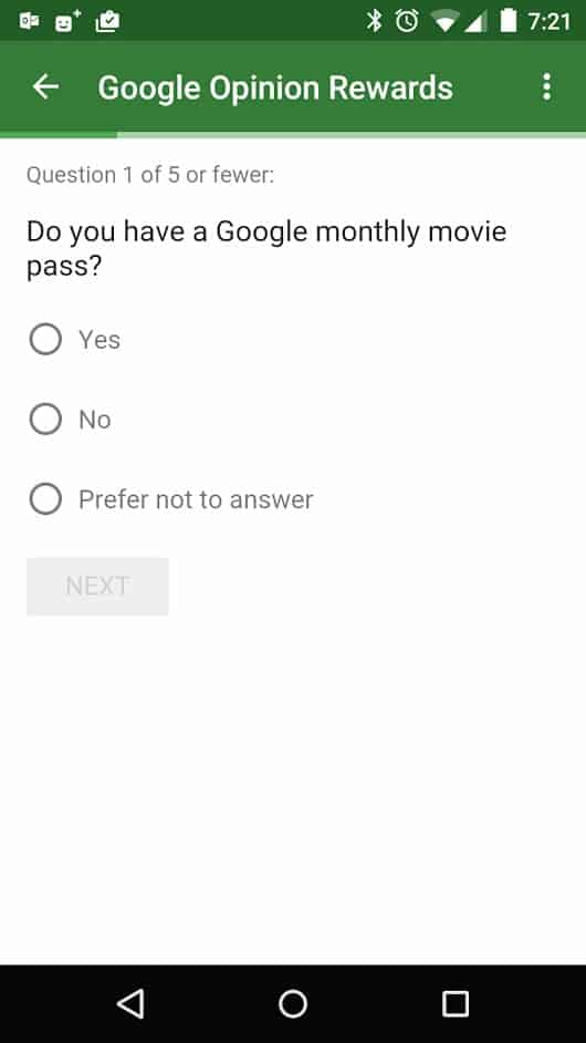 google monthly movie pass