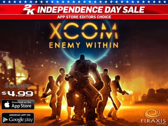 2K Is Having An Independence Day Sale On Mobile Games