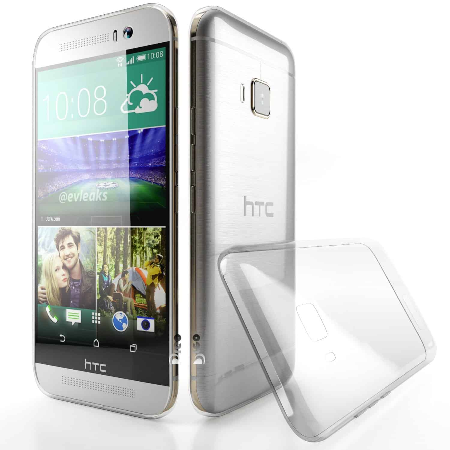 Case of the Day: Dreco Clear Case for the HTC One M9