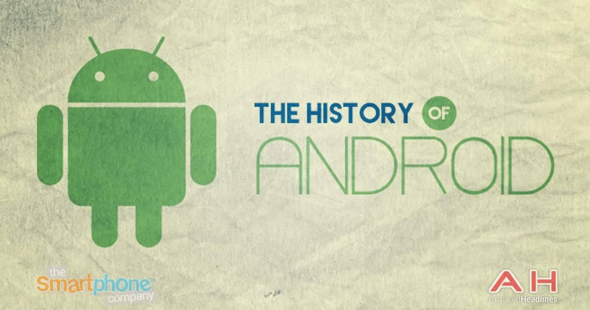 AH History of Android OS Cupcake to Android M