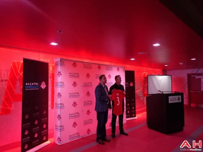Alcatel OneTouch Becomes Official Partner of Toronto FC