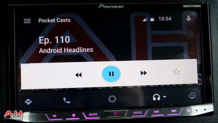 Android Auto PocketCasts AH 1